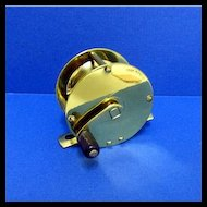 Brass English Fly Fishing Reel Antique