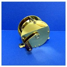 SOLD   See 21 more available  Fly Fishing Reel Antique English Brass Near Mint Condition