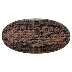 SOLD  July 2019   Brandreth's Pills Tin Container