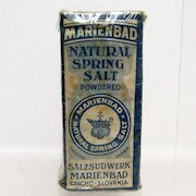 Marienbad Natural Spring Salt Unopened Pharmacy Item
