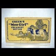 Greers Moo Girl Creamery Butter Box