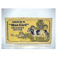 Greers Moo Girl Creamery Butter Box