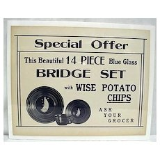Wise Potato Chips Store Advertising Sign