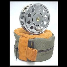 Fly Fishing Reel Mint Restored With Reel Case
