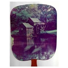 Advertising Fan White River Valley Electric Bronson Missouri