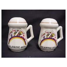 Salt and Pepper Set Atlantic City Souvenir Shakers