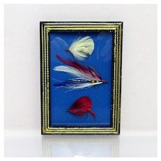 SOLD   Se others we hae for sale  Fly Fishing Flies Framed