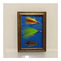 Weber Fly Fishing Flies Framed