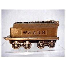 Bank Replica of Western & Atlantic  W & A.R.R. Railroad Car