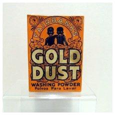 Gold Dust Washing Powder MINT Unopened LAST ONE