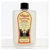 Glass Bottle Diana Lemon Lotion