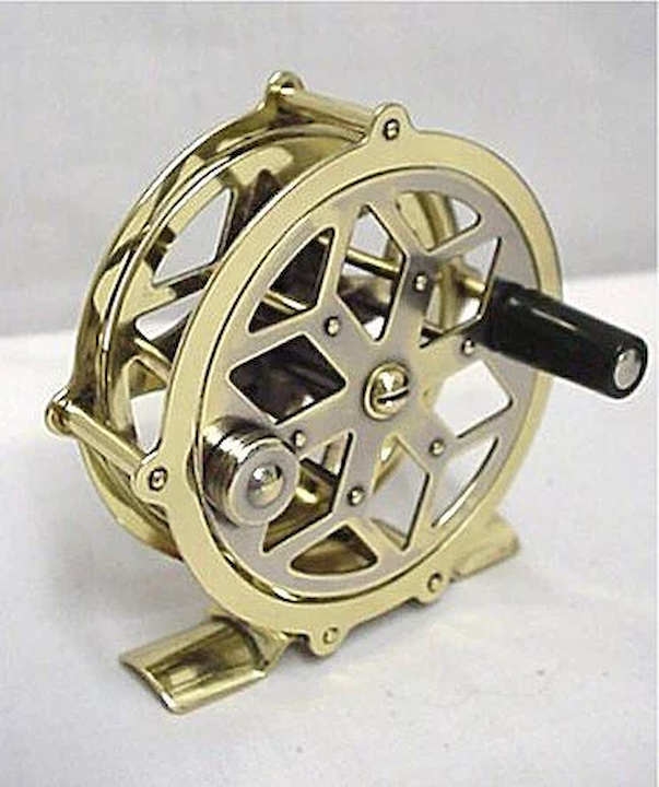 84c27d295ba SOLD See others available Raised Pillar Brass Fly Reel 50% OFF ...