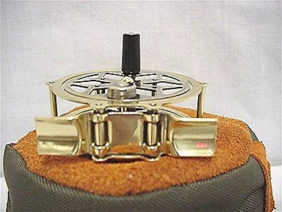 Sold See Others Available Raised Pillar Brass Fly Reel 50