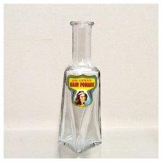 8 Sided Glass Bottle from Pharmacy or Drugstore