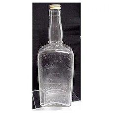 Advertising Old Mr. Boston Liquor Or Whiskey Bottle