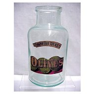 Olive Bottle Spanish Queen Brand