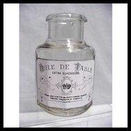 Table Oil Bottle