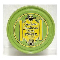 Max Factor Theatrical Face Powder Makeup Tin
