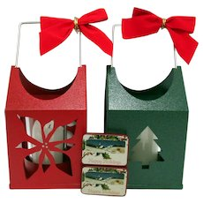 Lanterns for Christmas Your Choice Red or Green