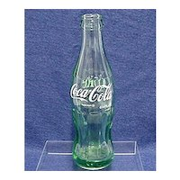 Advertising Coca Cola Bottle 6 1/2 ounce Size From Toledo  Ohio