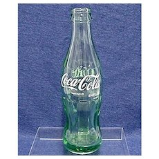 Coca Cola Bottle 6 1/2 ounce Size From Toledo  Ohio