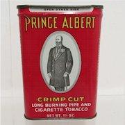 Prince Albert Crimp Cut Tobacco  Advertising Tin