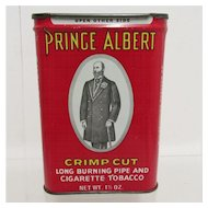 Prince Albert Crimp Cut Tobacco  Advertising Tin