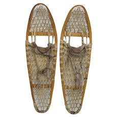 Matched Pair Of Antique Snowshoes  LAST PAIR