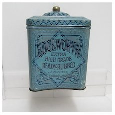 SOLD   See other tins for SALE   Edgeworth Humidor Tobacco Advertising Tin