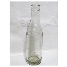 Advertising Coca Cola Bottle Circa 1900-1915