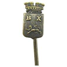 Stickpin Souvenir of Bayeux France Stick Pin