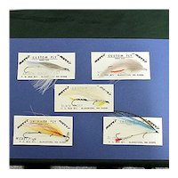 Fly Fishing Flies Streamers Five Different