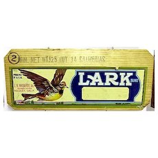 Lark Wood Advertising Sign