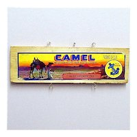 Camel  of California Wood  Advertising Sign