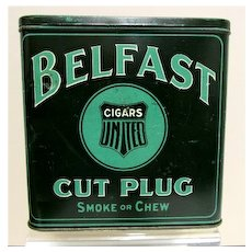 Belfast Cut Plug Tin