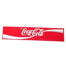 SOLD    See other SIGNS for SALE   Tin Coca Cola Sign