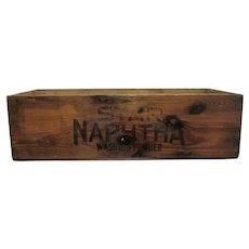 Proctor and Gamble Co.  Star Naphtha Washing Powder Wood Advertising Box Or Crate