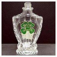 Old Perfume Bottle Trefle Exouis
