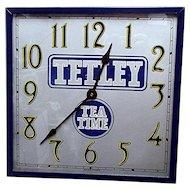 Advertising Wall Clock For Tetley Tea