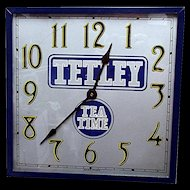 Tetley Tea Advertising Wall Clock
