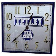 Tetley Tea Advertising Wall Clock