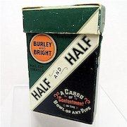Half & Half Tobacco Box Unopened