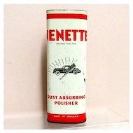 Nenette Car Dust Absorbing Polisher Automotive Advertising Tin