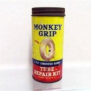 Car Tire Repair Kit Automotive Monkey Grip Tube Advertising Tin