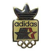 Adidas 1984 Summer Olympic Games Sponsor Pin