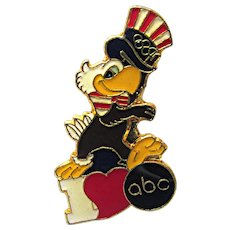 ABC 1984 Olympic Pin Summer Games Sponsor