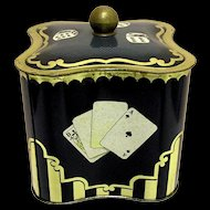 Candy Tin August Storck Advertising