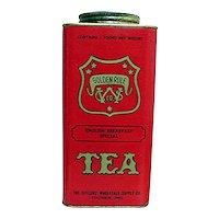 Golden Rule Advertising Tea Tin