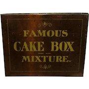 Famous Cake Box Mixture Tobacco Tin
