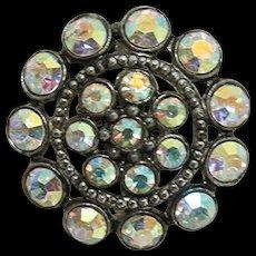Pin or Brooch Circular Aurora